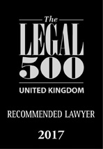 Legal 500 recommended logo